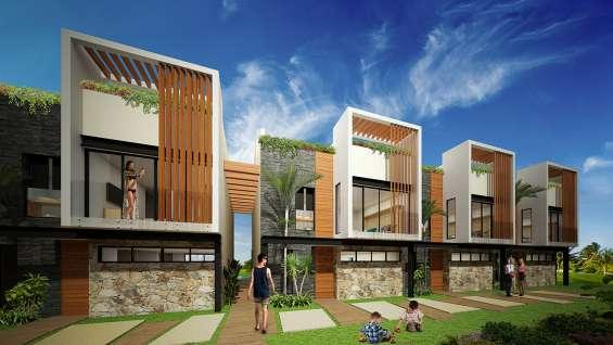 Exclusivos townhouses en la riviera maya tulum