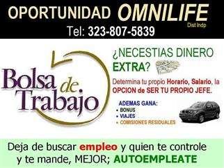 Sección empleos afiliate a omnilife $43 zona los angeles