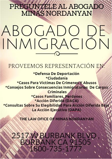 Problemas de inmigracion