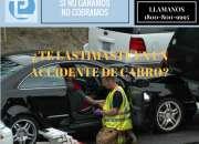 TUVISTE UN ACCIDENTE EN TU AUTO P PERSONA