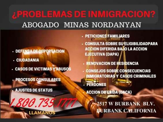 Problemas con inmigracio llamanos te pdemos ayudar