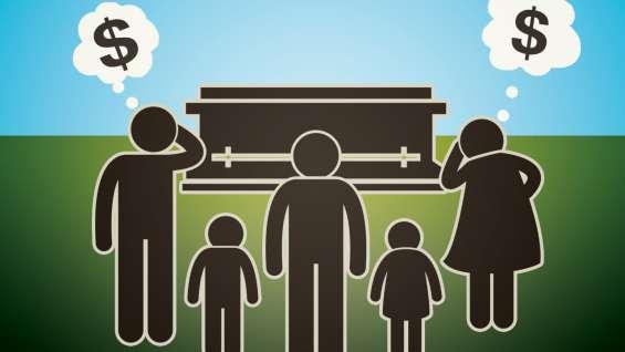 ¿quien pagará su entierro?