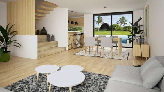 Exclusive townhouses in chemuyil bay, quintanaroo