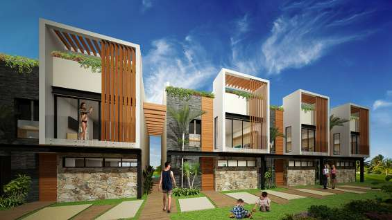 Exclusive townhouses in the riviera maya chemuyil bay