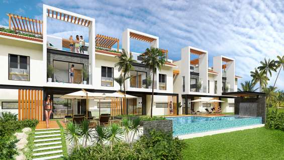 Exclusive townhouses in the riviera maya , tulum